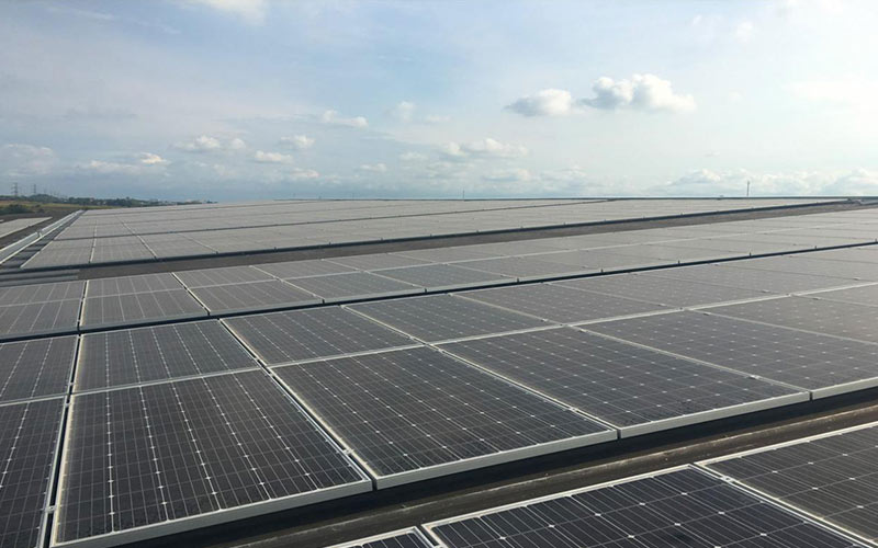 Aisa:Thailand 1MW Industry Rooftop Solar Project